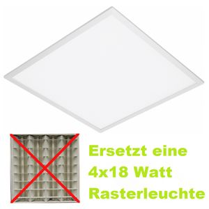 LED Panel ZEON ECO 35W 4000 K neutralweiß 3750lm Mikroprisma (UGR < 19)