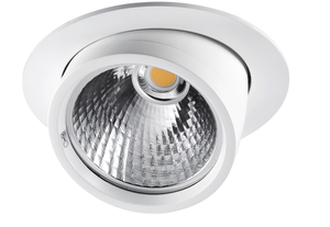 ELSION 130 LED Downlight 927 Backwaren mit UV-Filter 39° 24W 2200lm DA=180mm weiß