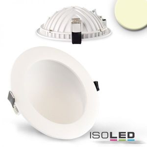 LED Downlight LUNA 12W, weiß, indirektes Licht, warmweiß 2700K, 675lm 120°