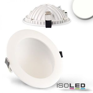 LED Downlight LUNA 12W, weiß, indirektes Licht, neutralweiss 4000K, 720lm 120°