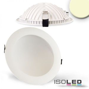 LED Downlight LUNA 18W, weiß, indirektes Licht, warmweiß 2700K, 1030lm 120°