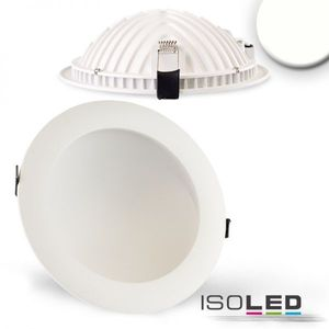 LED Downlight LUNA 18W, weiß, indirektes Licht, neutralweiss 4000K, 1100lm 120°