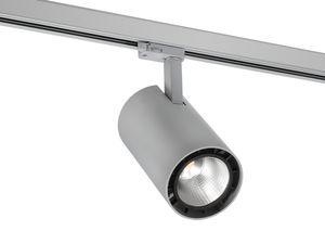 SPOTLIGHT 110S  LED 3-Ph-Strahler 3000lm, 830 PW, 3000K, 39°, silber