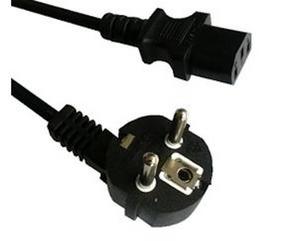 Anschlusskabel für FAIR POWER LED Displayleuchte 300 cm lang in schwarz