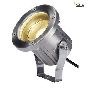 NAUTILUS, LED Erdspießleuchte, Edelstahl 316, IP55, warmweiß