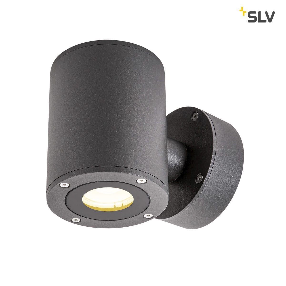 SLV 1002017 SITRA WL LED Outdoor Wandaufbauleuchte weiß IP44