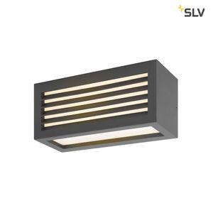 BOX_L, LED Außen-Wand-/Deckenaufbauleuchte, anthrazit, IP44, warmweiß, 19W