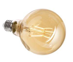 LED Leuchtmittel E27 G95 2200K, E27, 4,40 W, 380lm, Warmweiß