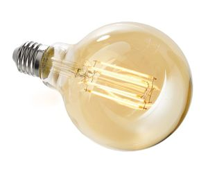 LED Leuchtmittel E27 G95 2200K, E27, 8,50 W, 860lm, Warmweiß