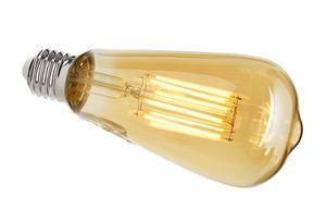 LED Leuchtmittel E27 ST64 2200K, E27, 8,50 W, 860lm, Warmweiß