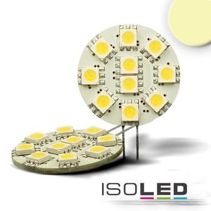 ISOLED LED G4 10SMD, 2W, warmweiß, Pin seitl., 120°, A+, 3000K, 127lm, CRI:80