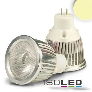 ISOLED LED MR11 Strahler 3W COB, 38°, warmweiß, 38°, A++, 2700K, 220lm, CRI:83