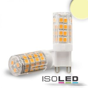 ISOLED LED Leuchtmittel G9 51SMD, 3,5W, warmweiß, 270°, A++, 2700K, 340lm, CRI:80