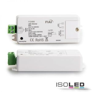 Sys-One Funk-Empfänger / Push-Dimmer, 1x8A, 12-36V DC