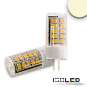 ISOLED LED Leuchtmittel G4 33SMD, 3,5W, warmweiß, 270°, A+, 2700K, 320lm, CRI:81