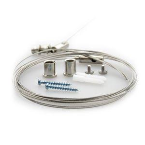 Seilabhängung für LED Linear- und Wannenleuchten
