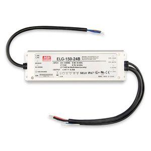 LED Trafo MW ELG-150-24B 24V/DC, 0-150W, 1-10V (60-150W) dimmbar, IP67