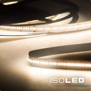 ISOLED LED Stripe Linear 24V 15W warmweiß 20m Rolle 120° A+ 3000K 1600lm CRI:92