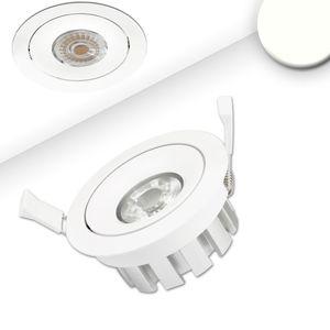 LED Einbaustrahler, weiß, 15W, 45°, neutralweiß, dimmbar