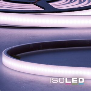 ISOLED LED Stripe AQUA milchig, 24V, 12W, IP67, RGB, 120°, A, lm