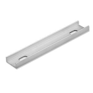 ISOLED Befestigungsleiste für Montageprofile, 10cm, gebohrt