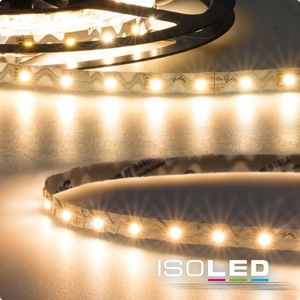 ISOLED LED Stripe Curve, 24V 12W, warmweiß, f.Winkel+Ecken, 120°, 3000K, 970lm, CRI:90