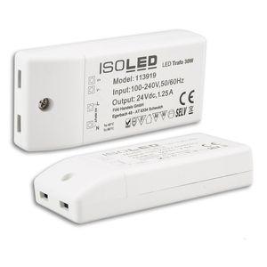 LED Trafo 24V/DC, 0-30W, kompakt