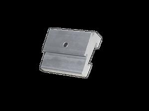 Befestigungsclip 7,6° für NOVI, LUMI, META LED Messestrahler Displayleuchte ELEKTROZON, 38x26x11,3mm