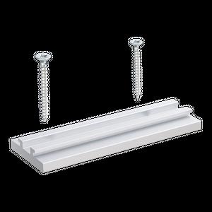 Untere Schiene Clip für NOVI, LUMI, META LED Messestrahler Displayleuchte 100x35x9,5mm
