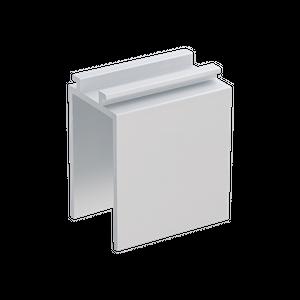 Standard Befestigungsclip alu für 22mm Wandstärke NOVI, LUMI, META LED Messestrahler Displayleuchte ELEKTROZON