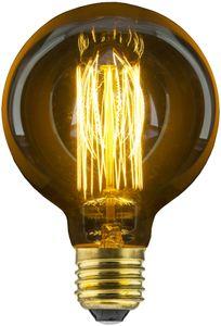 Avide Special Decor Edison G95 E27 40W warmweiß dimmbar, 140lm, Dekoleuchtmittel