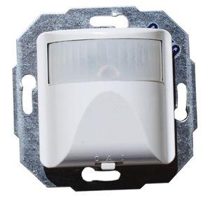 BEKA 50x50 2-Draht Bewegungsmelder UP mit Schalter 0-A-1 180 Grad reinweiß