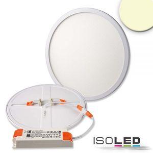 LED Downlight 23W, CRI>90, 1600lm, warmweiß, dimmbar, verstellbare Klammern für Lochausschnitt 50-210mm