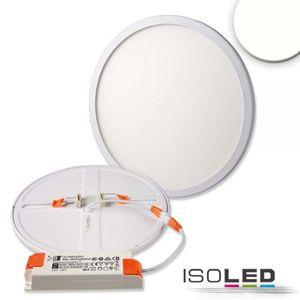LED Downlight 23W/940 neutralweiß, dimmbar 20-100%, verstellbare Klammern für Lochausschnitt 50-210mm, CRI>90