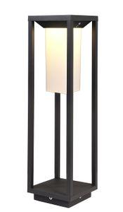 LED Stehleuchte, Warmweiß, Samas Solar 500 dunkelgrau, 3000K, 135lm, Aluminium, IP54
