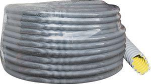 KNOSCH® easy Installationsrohr, Wellrohr, Leerrohr, 100m, Klasse 33232, M25, Nm750 grau, EWM-FR
