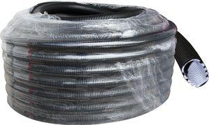 KNOSCH® easy Elektroinstallations-/ Wellrohr, 100m, Kl.23332, M25, schwarz, MBY-FR