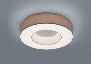 LOMO LED Deckenleuchte, mattweiß, 3100lm, 30W, 2800K, Warmweiß, dimmbar