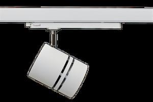 SPOTLIGHT RONDO 90G LED 3-Ph-Strahler 32W 3500lm, 3000K 930 Premium White CRI 90, 36° weiß/chrom
