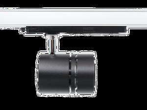 SPOTLIGHT RONDO 90G LED 3-Ph-Strahler 32W 3500lm 3000K 930 Premium White CRI 90, 36° schwarz/chrom