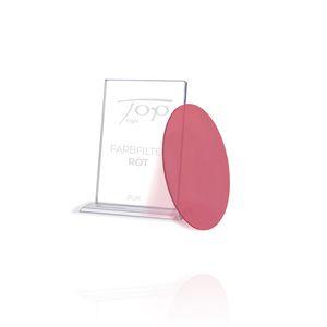 Top Light roter Farbfilter für Puk Leuchten, nur unter Glas oder Linse