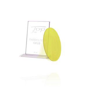 Top Light Farbfilter gelb, Puk Leuchten, nur unter Glas oder Linse