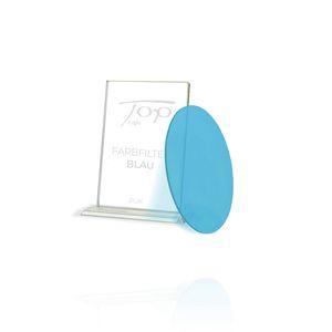 Blauer Farbfilter für Top Light Puk Leuchten, nur unter Glas oder Linse