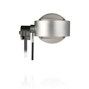 Top Light Puk Fix +, flexible Spiegelklemmleuchte, drehbar per Verstellstift, Ø90, dimmbar