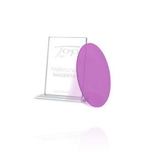 Top Light Farbfilter Magenta für Puk Maxx Leuchten , nur unter Glas oder Linse