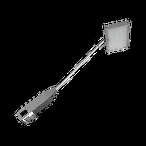 CYRA 20 LED Displayleuchte 20 Watt, bis 2300lm, 3000K/4000K/5700K Alu silber-grau