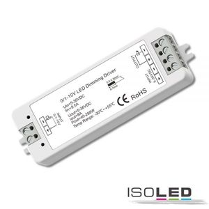 Isoled Sys-Pro 0/1-10V Input/Funk PWM-Mesh Dimmer 1 Kanal, 5-36V DC 8A, 48V DC 4A, spannungskonstant, 0 -100%, weiches Dimmen