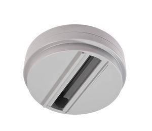 Aufbauadapter grau für Leuchten, D-Line 3-Phasen-Schiene