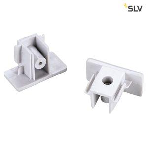 Endkappen für 1-Phasen HV-Stromschiene, Aufbauversion weiß, 2 Stück