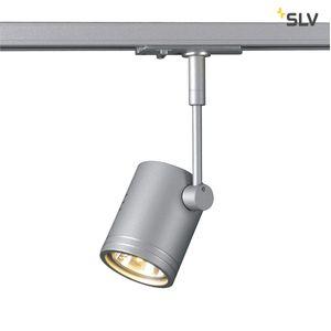 BIMA I Leuchtenkopf, silbergrau, GU10, max. 50W, inkl. 1 Phasen-Adapter